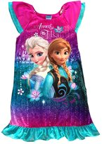 DISNEY Frozen Girls' Elegant Nightgown with Anna Elsa picture, 6