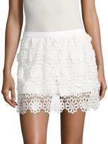 Trina Turk Pedra Floral-Lace Shorts