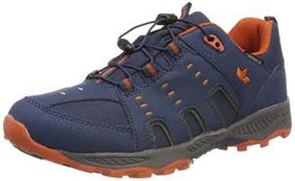 Lico Unisex Kids' Apachi Low Rise Hiking Shoes, Blue Marine/Orange