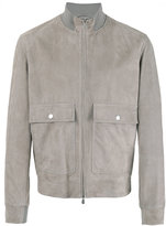 Brunello Cucinelli suede jacket - men - Cotton/Leather/Cupro - M