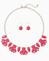 Charming charlie Kaya Cluster Necklace Set