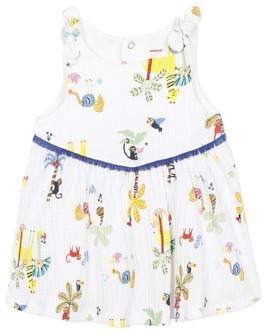 Catimini BIXENTE girls's dress in White