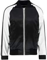 Urban Classics Souvenir Bomber Jacket Black/offwhite