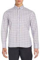 Billy Reid Standard-Fit Tuscumbia Plaid Cotton Sportshirt