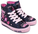 Lelli Kelly Kids Navy Amy High Top Trainers