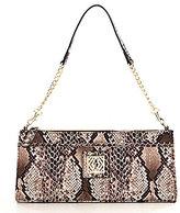 Kate Landry Suit Item Snake-Print Shoulder Bag