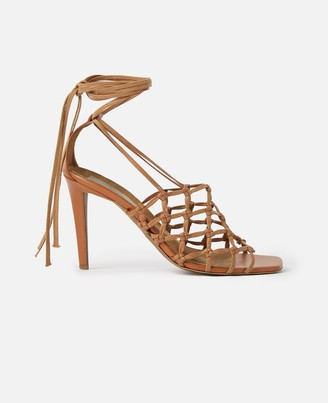 Stella McCartney Lace-up Heeled Sandals, Women's