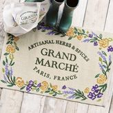 Sur La Table Grand Marche Jute Rug