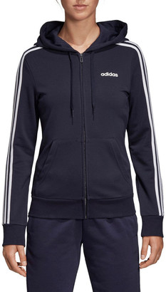 adidas Essentials 3-Stripes Zip Hoodie