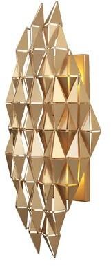 Varaluz Forever 2 - Light Dimmable French Gold Flush Mount