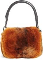 Alexander Wang Mini Genuine Rabbit Fur Handbag