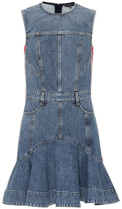 Alexander McQueen Jean minidress
