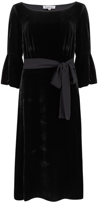 Libelula Bearob Dress Black Velvet
