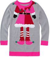Total Girl Long-Sleeve Christmas Tunic - Girls 7-16 and Plus
