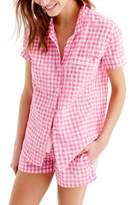 J.Crew J. CREW Gingham Pajama Set