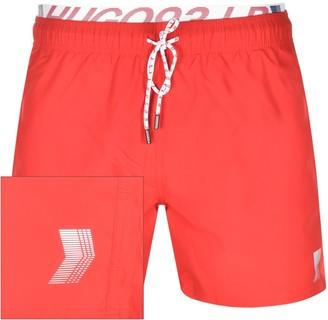 HUGO BOSS X Liam Payne Cocoa LP3 Swim Shorts Red