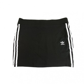adidas Black Cotton - elasthane Skirts