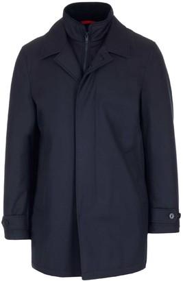 Fay Layered Zip-Up Jacket
