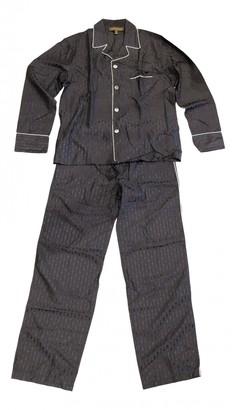Louis Vuitton Black Silk Suits
