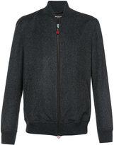 Kiton felt bomber jacket