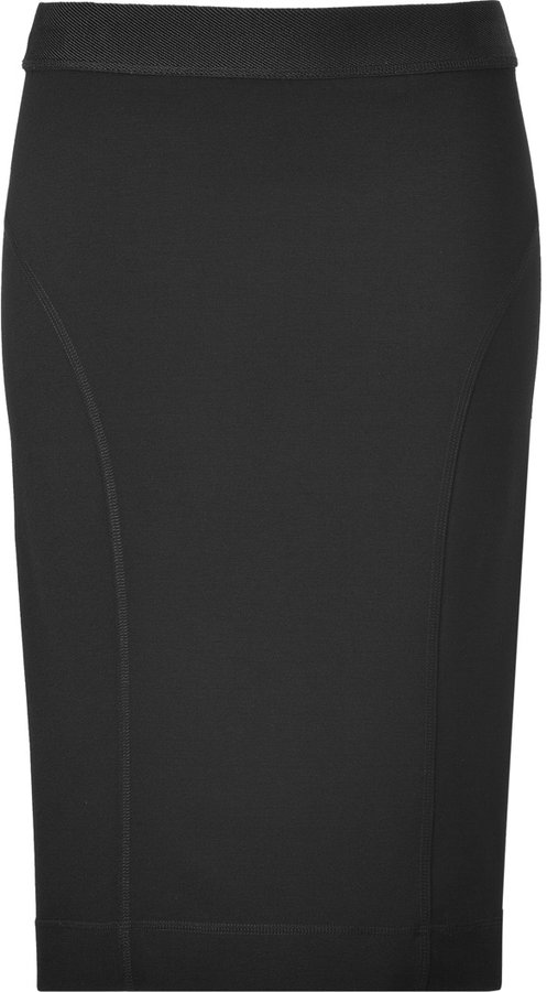 By Malene Birger Black Valtena Pencil Skirt