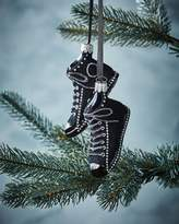 Christborn Wegner Black Sneaker Christmas Ornament