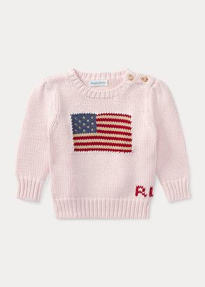Ralph Lauren Flag Cotton Sweater
