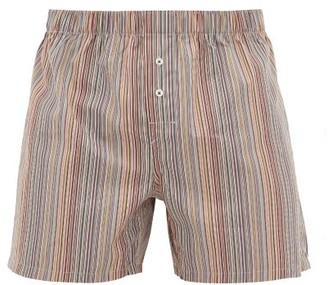 Paul Smith Signature Stripe Cotton Boxer Shorts - Mens - Multi