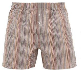 Paul Smith Signature Stripe Cotton Boxer Shorts - Multi