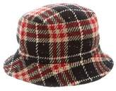Burberry Check Wool Bucket Hat