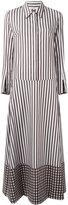 Dondup striped shirt dress - women - Cotton - 40
