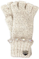 Betsey Johnson On The Rocks Half Finger Glove