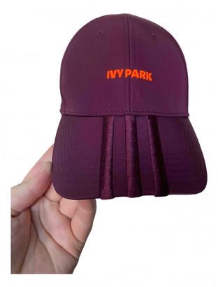 Ivy Park Orange Polyester Hats