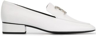 Dorateymur Snake Embellished Loafers
