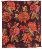 Karma Living Romance Woven Cotton Carpet - Brown - 4ft x 6in