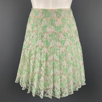 Christopher Kane Green Silk Skirts