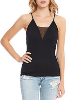 Free People Come Around Mesh V-Neck Cami
