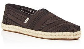 Toms Women's Classic Embroidered Espadrille Flats