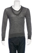 Neil Barrett Wool V-Neck Sweater w/ Tags