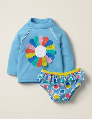 Applique Rash Vest Set