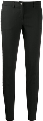 Philipp Plein Star studded skinny trousers
