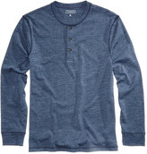 Club Room Men's Heathered Henley, Only at Macy's