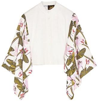 Loewe x Paula's Ibiza Wool-Silk Cardigan