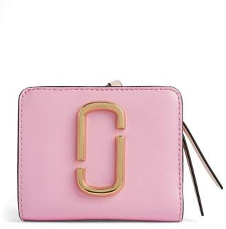Marc Jacobs The Leather Snapshot Mini Compact Wallet