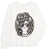 Little Marc Jacobs Girl's 'Essential' Graphic Tee