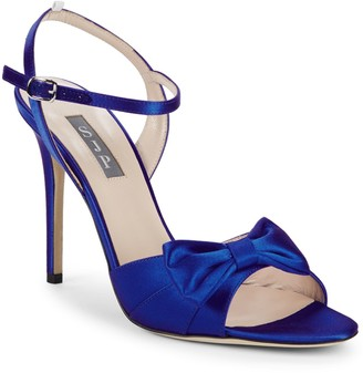 Sarah Jessica Parker Louise Satin Bow Stiletto Sandals