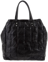 YVES SAINT LAURENT - Leather quilted bag