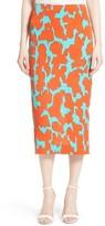Diane von Furstenberg Women's Tailored Midi Pencil Skirt