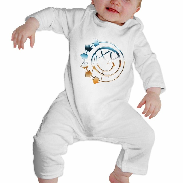 Blink Punk 182 Baby Playsuit Long Sleeve Outfits Infant Boys Girls Rompers 0-24 Months Babies Jumpsuit Clothes Kids Playsuits Toddlers Outfits
