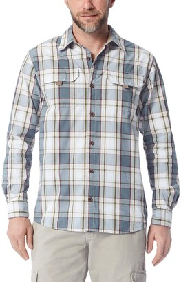 Wrangler Authentics Men's Long Sleeve Canvas Shirt